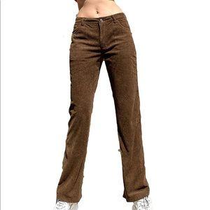 ✨NWT✨ Brown 🤎 Corduroy Pants Reto Vintage Y2K 90s